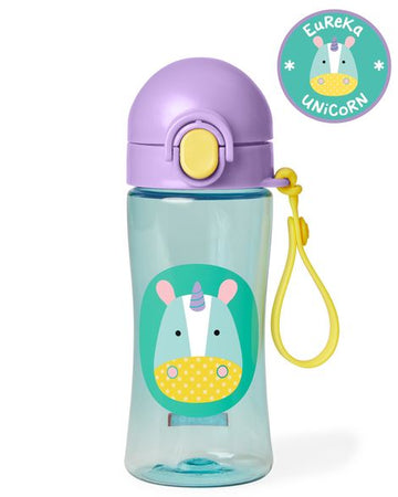 Zoo Lock Top Sport Bottle (Unicorn)
