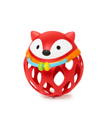 Explore & More Roll-around Rattle (Fox)