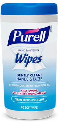 Hand Sanitizing Wipes - 40s (Refreshing Scent)