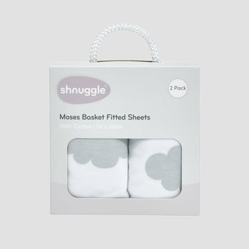 Dreami Fitted Sheet (Cloud)