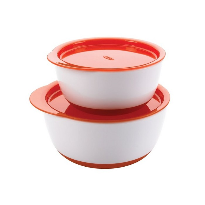 Small & Large Bowl Set (Orange)