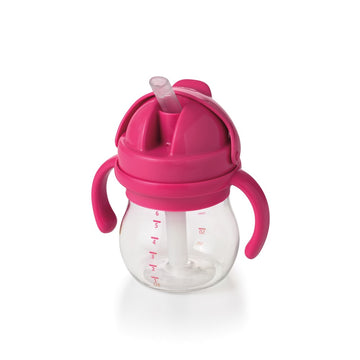 Transitions Straw Cup With Handles - 6oz (Pink)