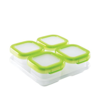 Baby Blocks™ Freezer Storage Container Set - 4oz (Green)