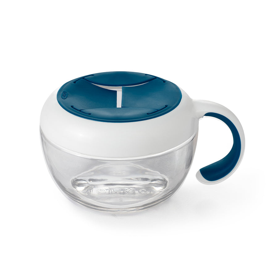 Flippy™ Snack Cup With Travel Cover (Navy)