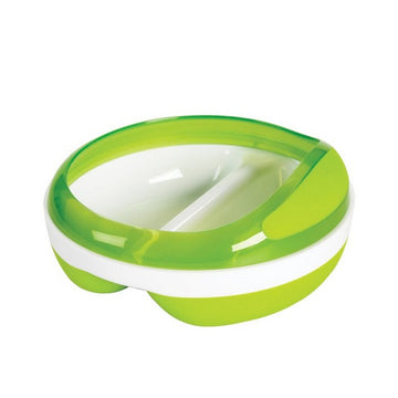 Divided Feeding Dish (Green)