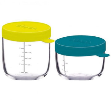 Glass Conservation Jar - Set of 2
