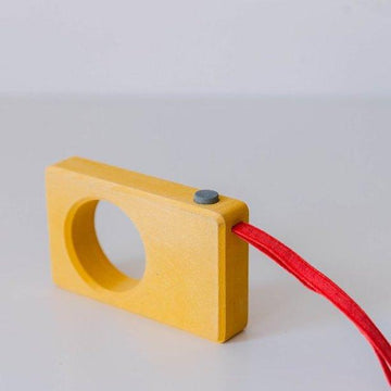 Wooden Camera (Yellow)