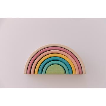 Pastel Rainbow Stacker (Small)