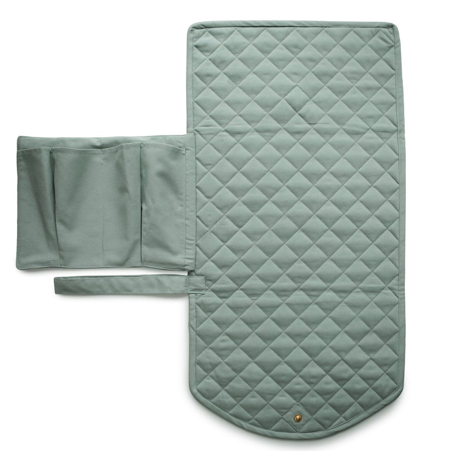 Portable Changing Pad - Roman Green