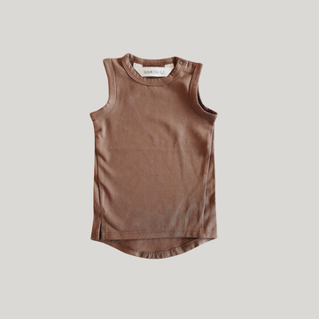 Baby Tank Top - Chocolate