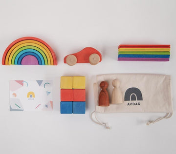 Rainbow Travel Kit (with Car)