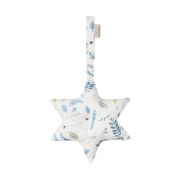 Play Gym Toy - Star (Pressed Leaves Blue)