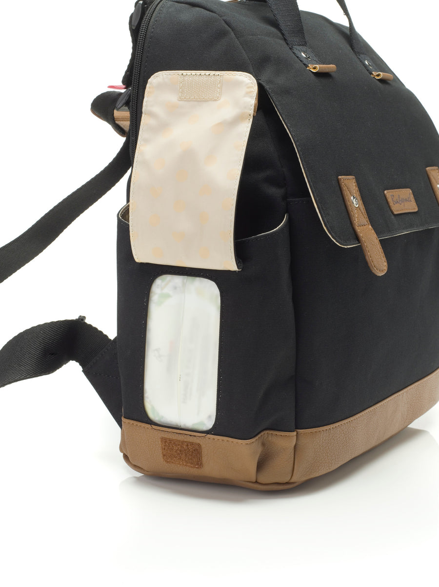 Robyn Convertible Backpack (Black)