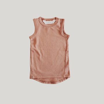 Baby Tank Top - Coral