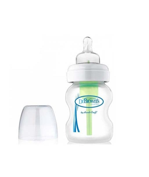 Options Wide Neck Baby Bottle 5oz/150ml - 1 Pack