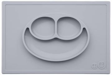 Happy Mat (Nordic Pewter)