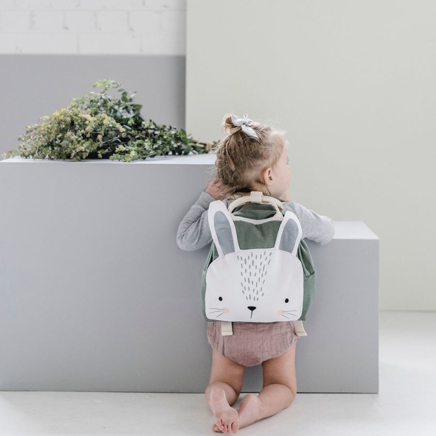 Sage Bunny Backpack
