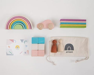 Pastel Travel Kit (with Car)