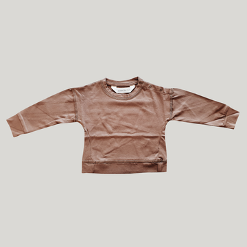 Baby Pullover - Chocolate