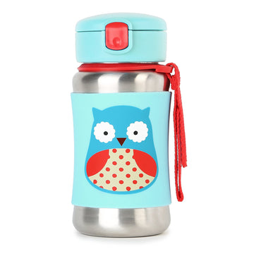 Zoo Insulated Stainless Steel Bottle (Owl)