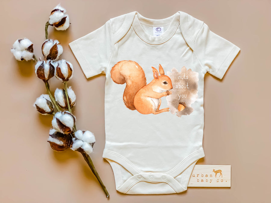Nuts About You Squirrel Bodysuit