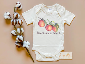 Sweet As A Peach Bodysuit