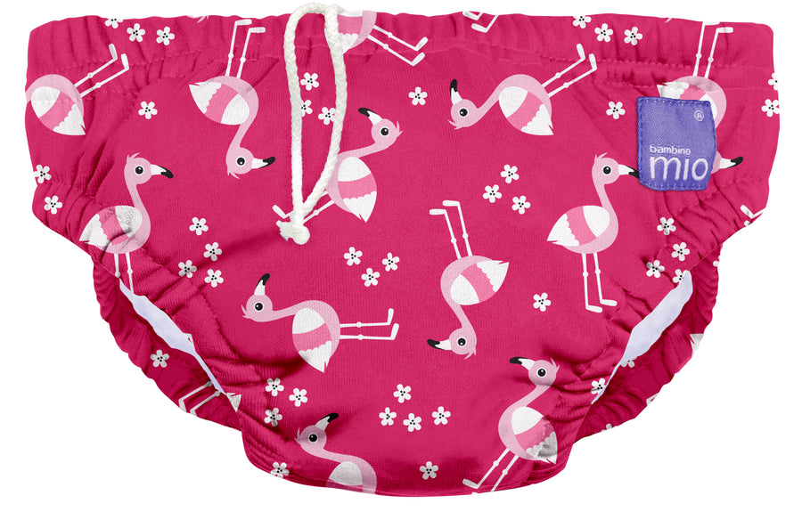 Swim Nappy (Pink Flamingo)