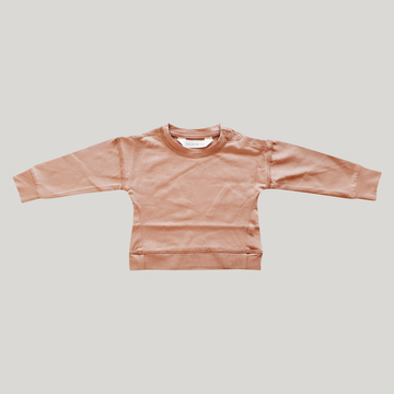 Baby Pullover - Coral