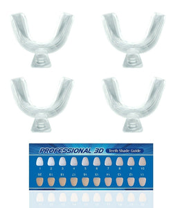 Home Teeth Whitening Kit - Advance Formula - Dental Gels + LED Lazer