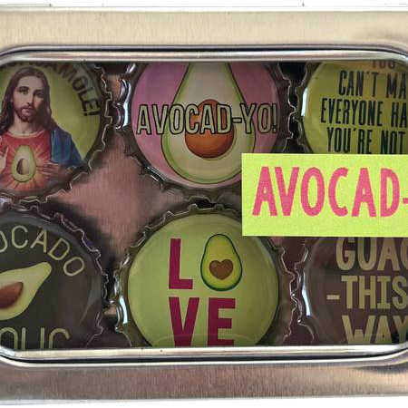 Avocado Magnet - Six Pack