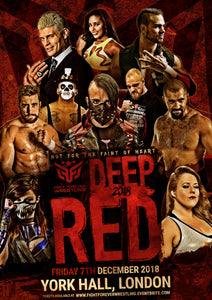SIGNED Deep Red Poster