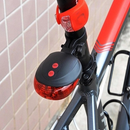 LED Bike Tail Light with Laser Safety Lane - iDealDirect - 5