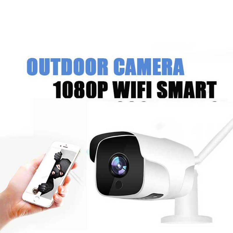 Outdoor Waterproof Wifi Security Camera with Real-Time Viewing
