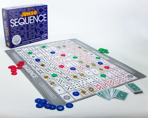 JUMBO SEQUENCE EXCITING GAME OF STRATEGY