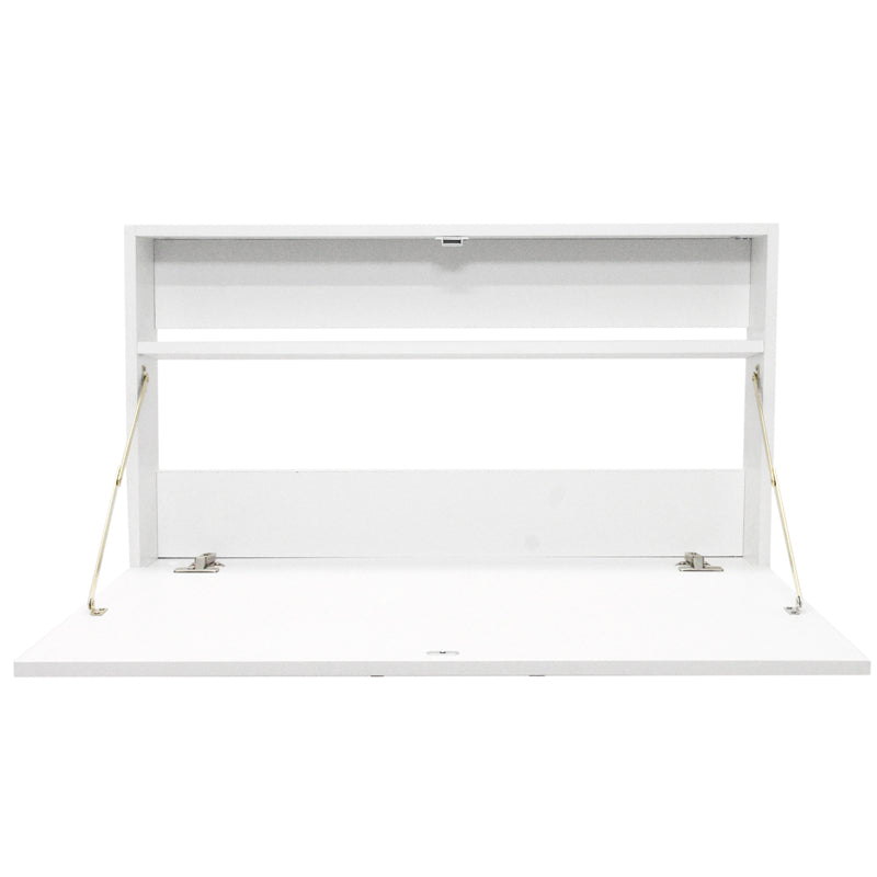 Fine Living - Signature Fold Up Desk - White