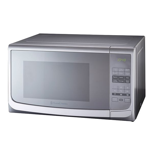 Russell Hobbs 28L Electric Silver Microwave With Mirror Finish