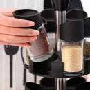 12 Set Double Layer Spice Rack
