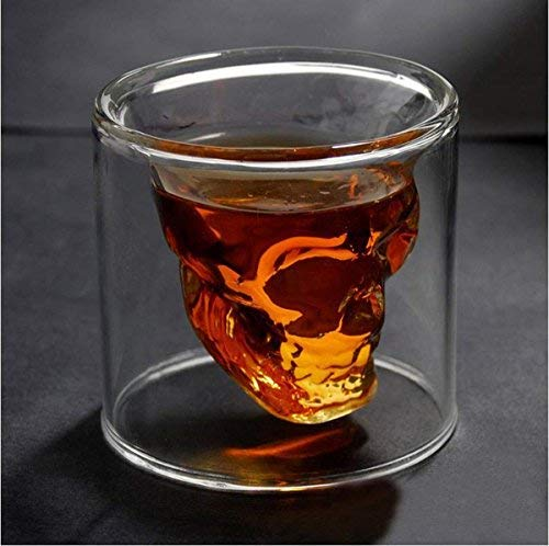 "Doomed the ""Crystal Skull"" Shot Glass"