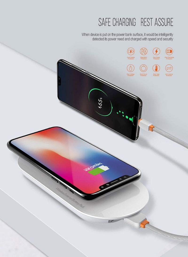 ADVIRE LDNIO PW1003 Wireless Charger with 10000 mAh Power Bank