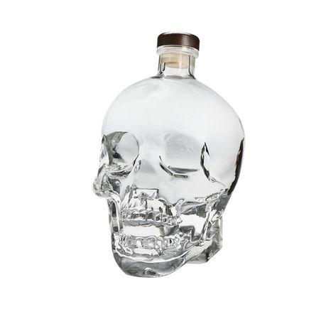 Crystal Head Skull Bottle -550ml