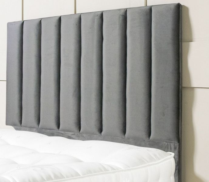 Fine Living - Bennedict Headboard Queen - Grey