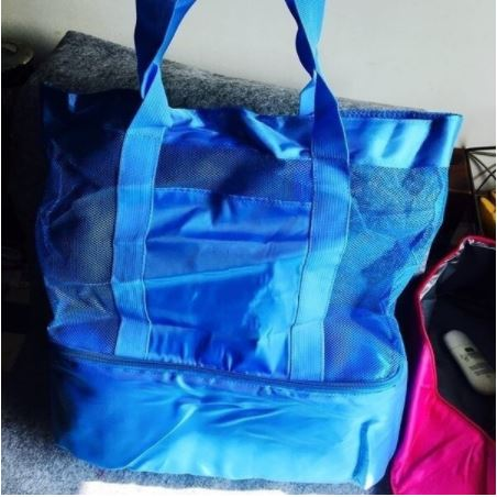 Insulated Cooler Picnic Bag - Blue