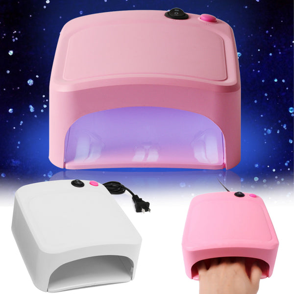 36W UV Lamp Nail Polish Dryer PINK