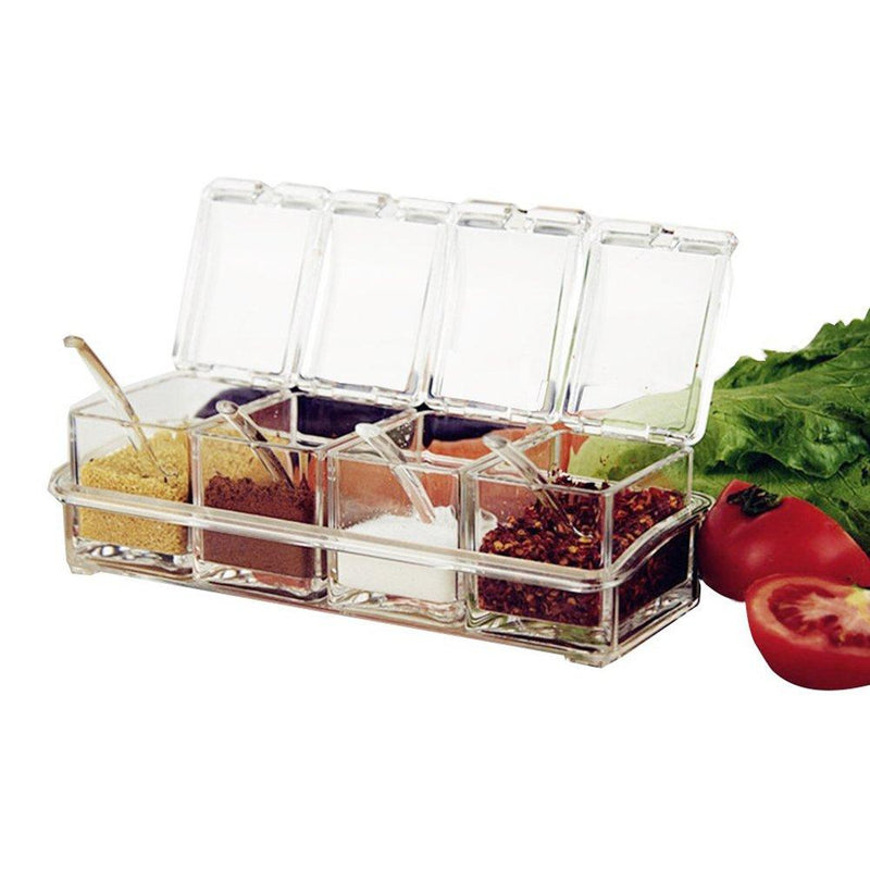 Crystal Clear Seasoning Box