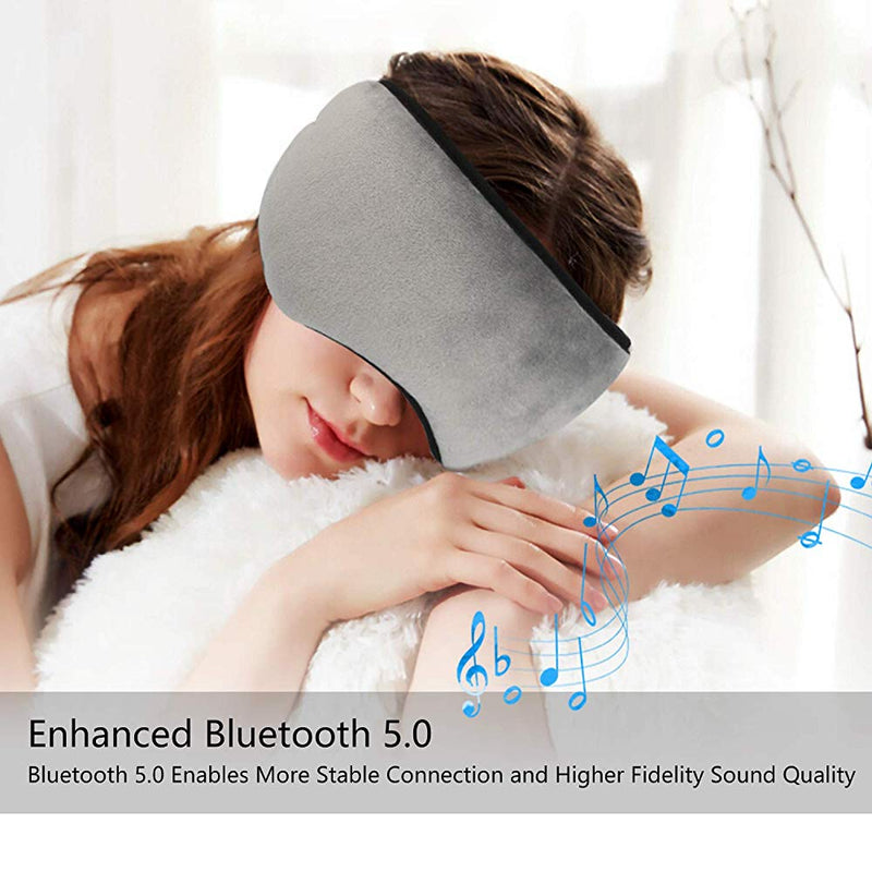Bluetooth Eye Shades With Built-In Speakers