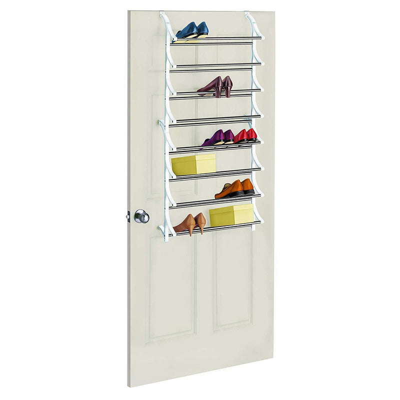 24 Pair Over Door Shoe Rack