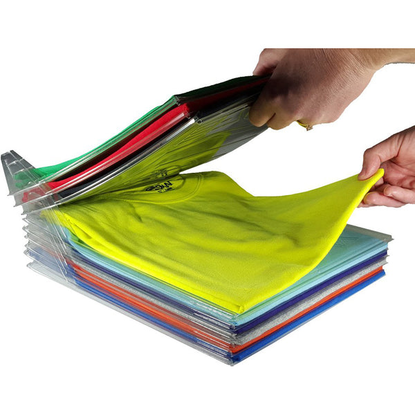 10 Pack T-Shirt Organiser