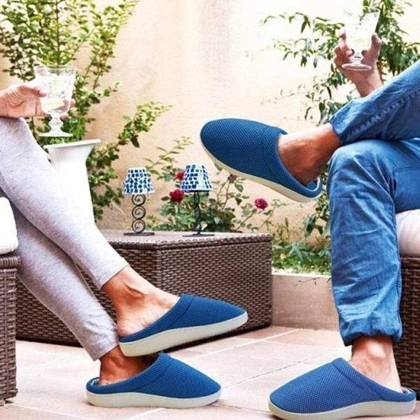 Bamboo Anti Fatigue Gel Slippers