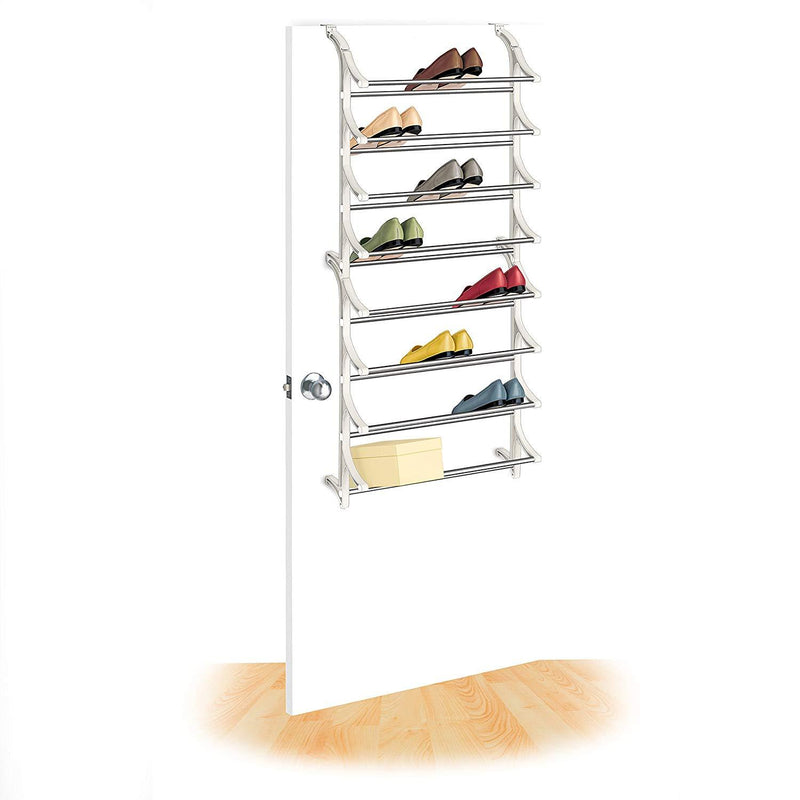 Storage - 24 Pair Over Door Shoe Rack
