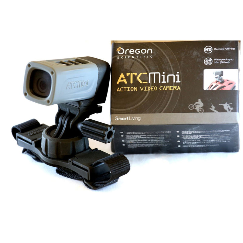 Oregon AATC-MiniS Waterproof Camera including 3 FREE accessories